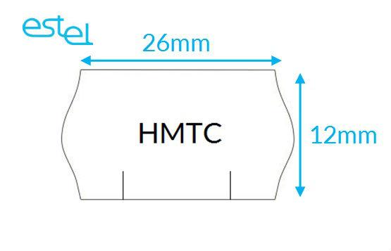 Metka do metkownicy HMTC 26mm x 12mm