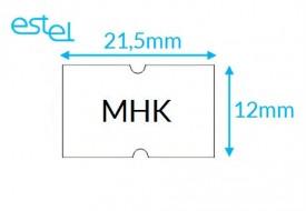 Metka do metkownicy MHK 21,5mm x 12mm
