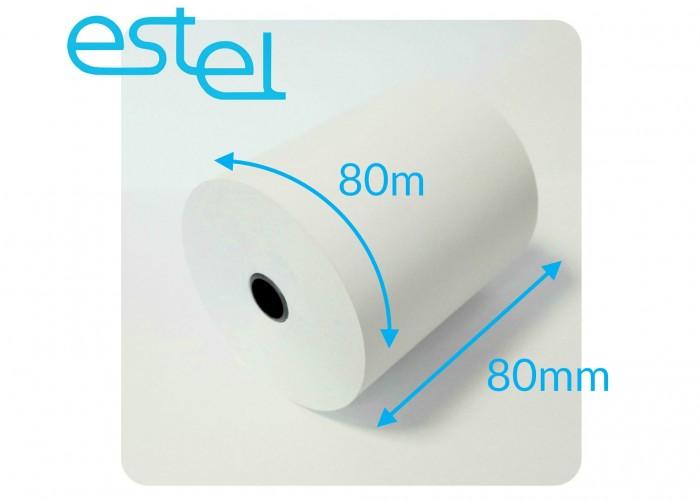 Rolka termiczna 80mm x 80m – 1szt.