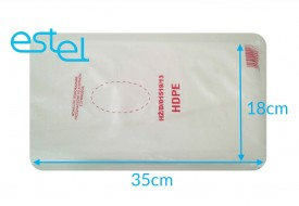 Woreczki foliowe HDPE 18cm x 35cm