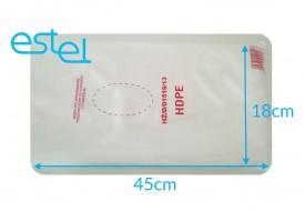 Woreczki foliowe HDPE 18cm x 45cm